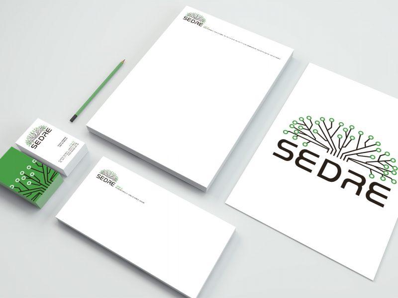 Sedre –Logo –Papeterie
