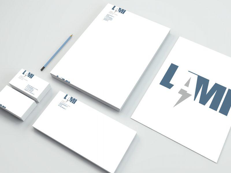 LAMI – Logo – Papeterie