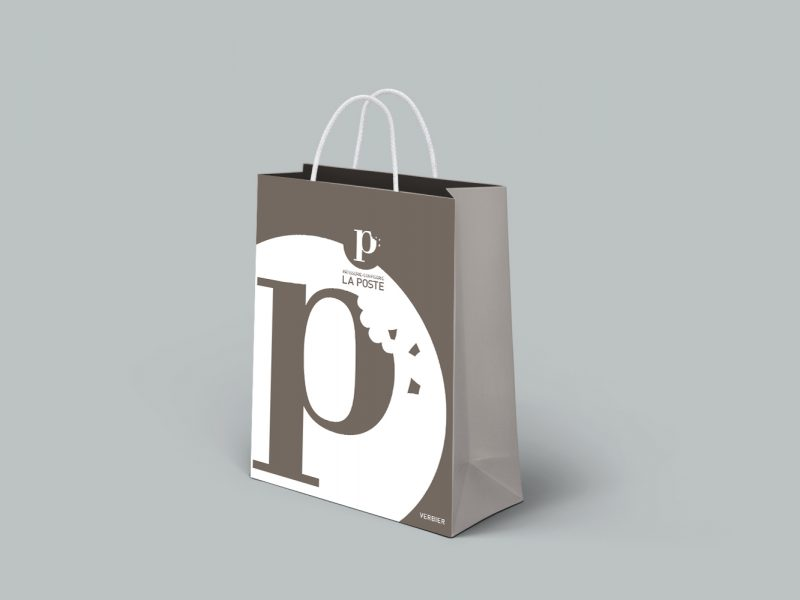 Pâtisserie La Poste – Packaging