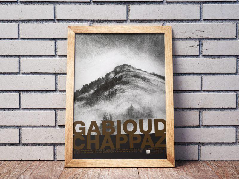 Musée de Bagnes –Affiche –Gabioud