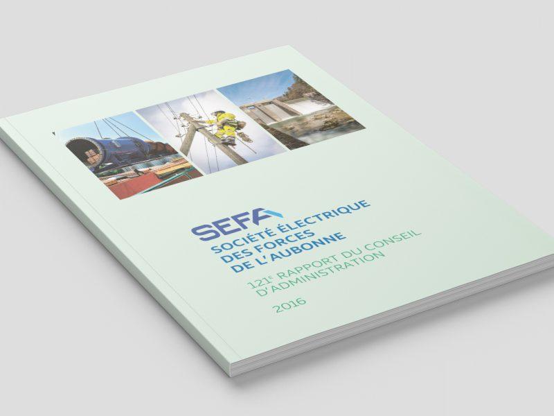 SEFA – Rapport de gestion – 2017