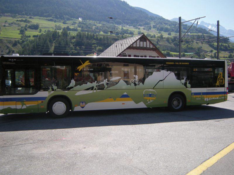 Commune de Bagnes – Véhicule – Bus