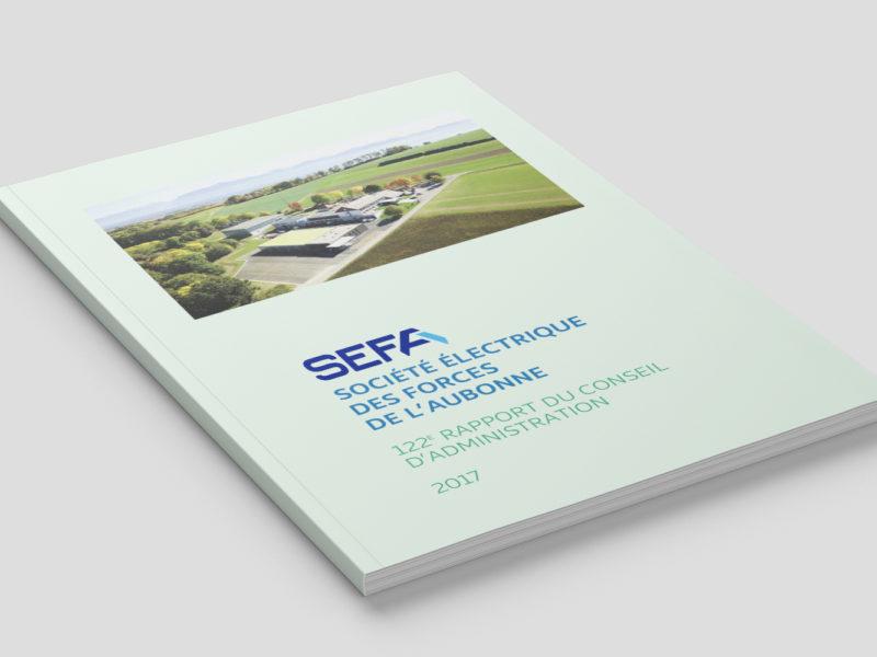 SEFA – Rapport de gestion – 2018