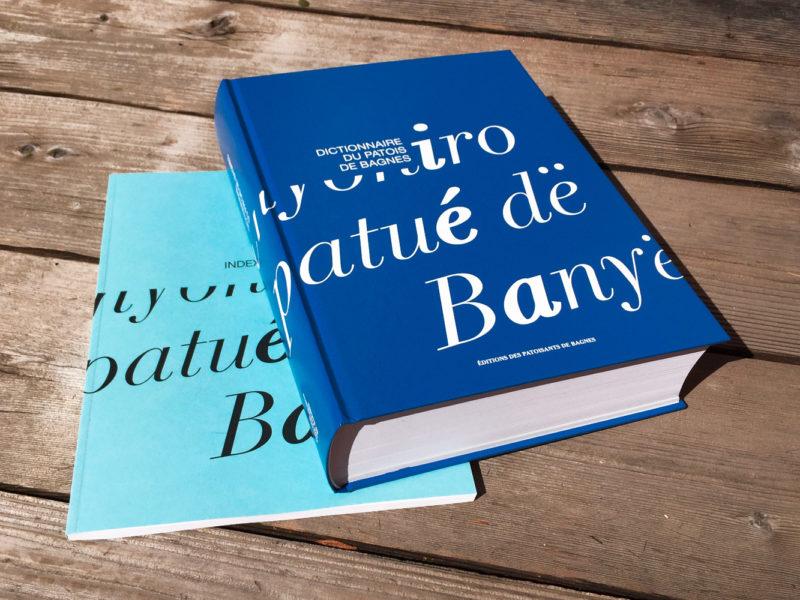 Dictionnaire du Patois de Bagnes – Livre