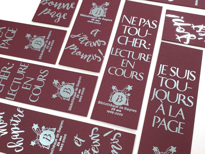 Bibliothèque de Bagnes – Signet