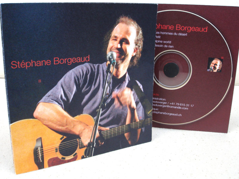 STÉPHANE BORGEAUD – CD